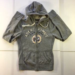Abercrombie & Fitch Women's Full Zip Jacket Hoodie